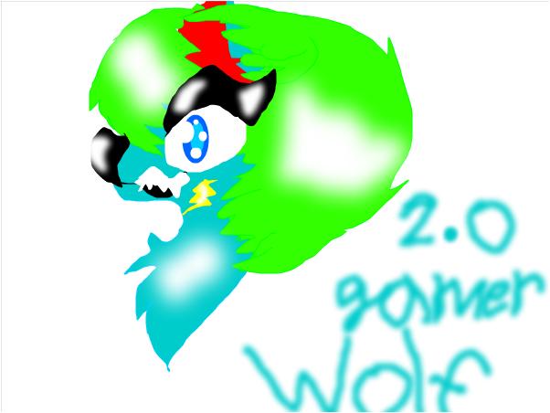 !My wolf version!