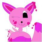 My fox from AJ! (Art fox version!)