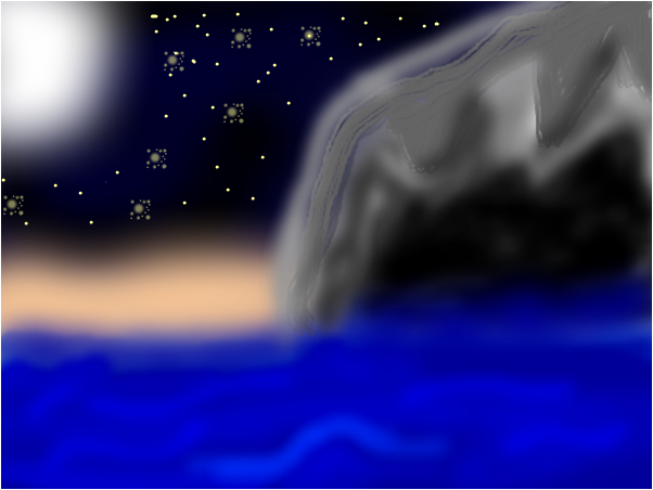 warrior cats midnights cave