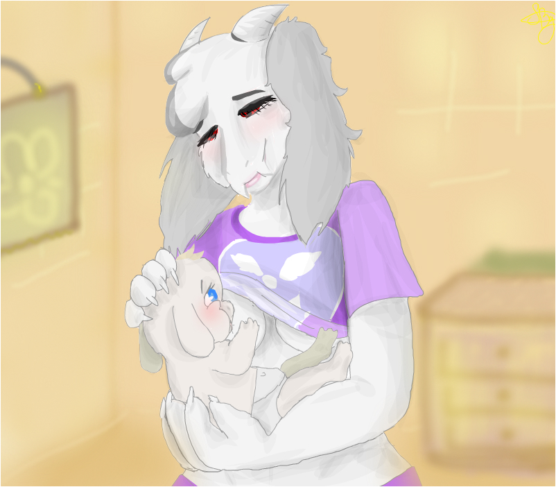 baby and mom :-3