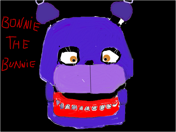 Bonnie the bunnie JumpScare