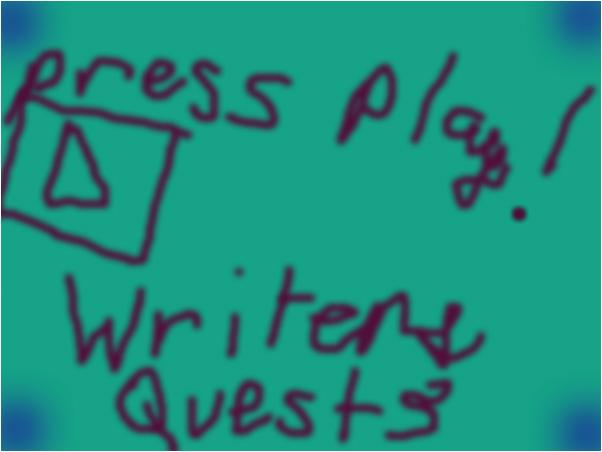 Writer's Quest Part 3