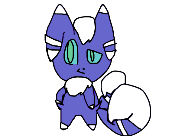 first attempt of a male meowstic