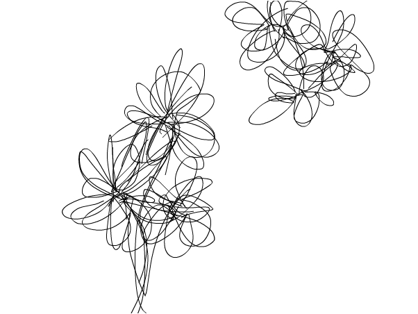 Abstract Daisies
