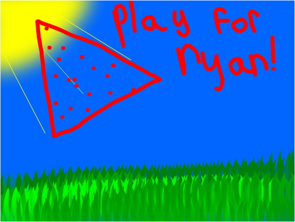 Press play for nyan!