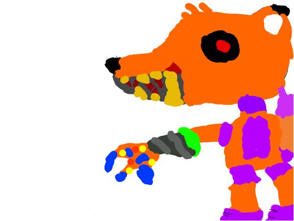 flame the fox