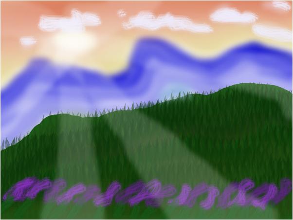 Landscape Sunset Scenery