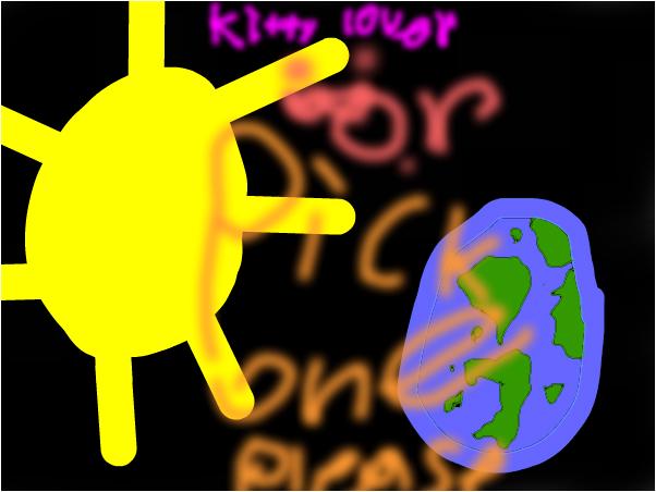 sun or earth pick one