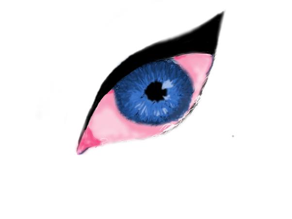 Sad eye (unfinished)