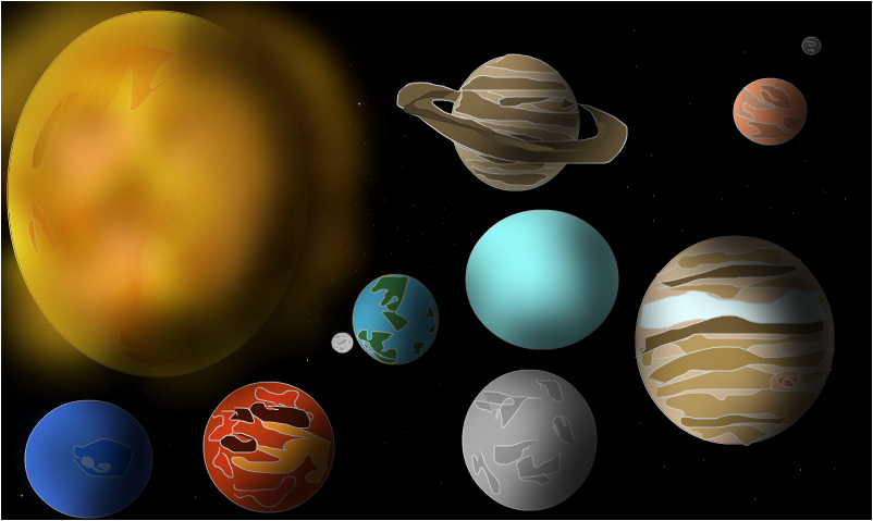 planets fixed
