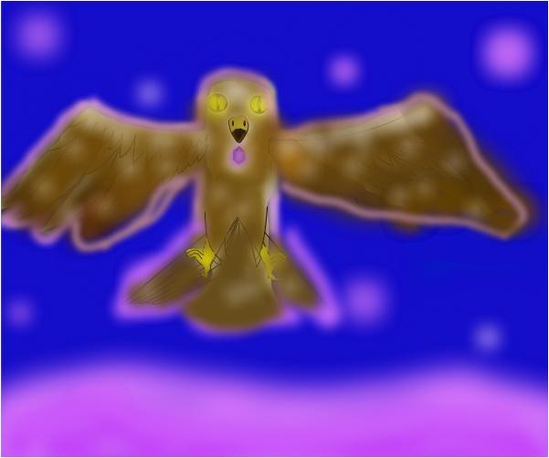 Amythest the Falcon