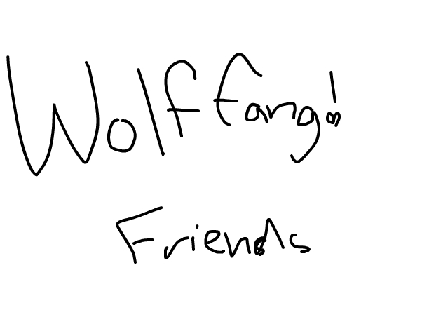 Wolf fang can we be be friends?