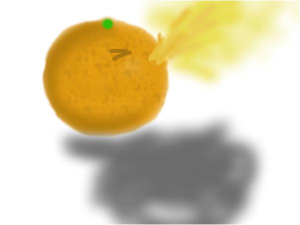 The Barfing Orange