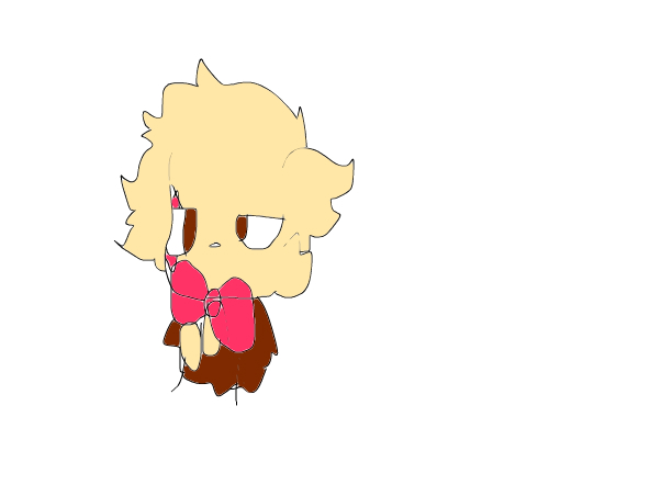 a very bad picture of my oc chip