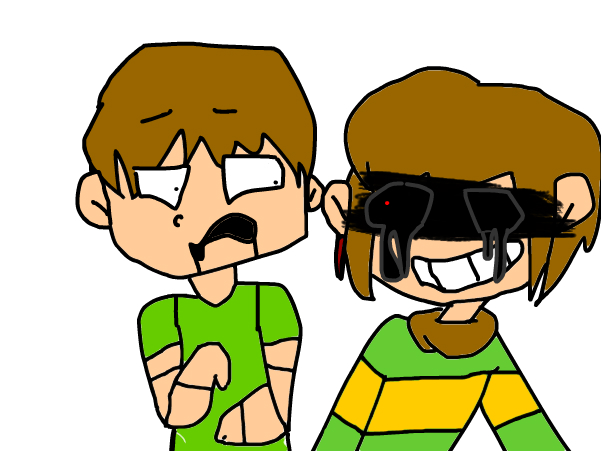 chara pls don't scare redraw