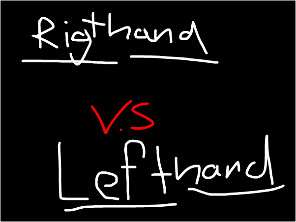 guess am i right or left handed