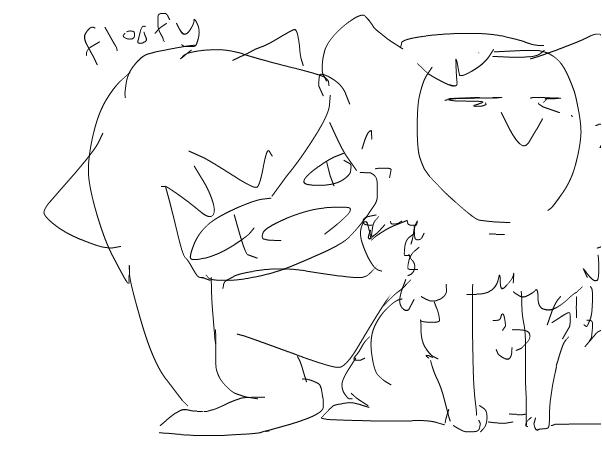 keda is floofy