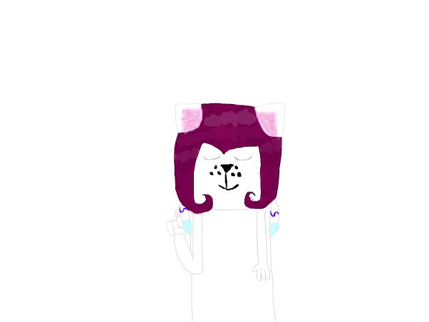 just drew frisk on aj pixel painter