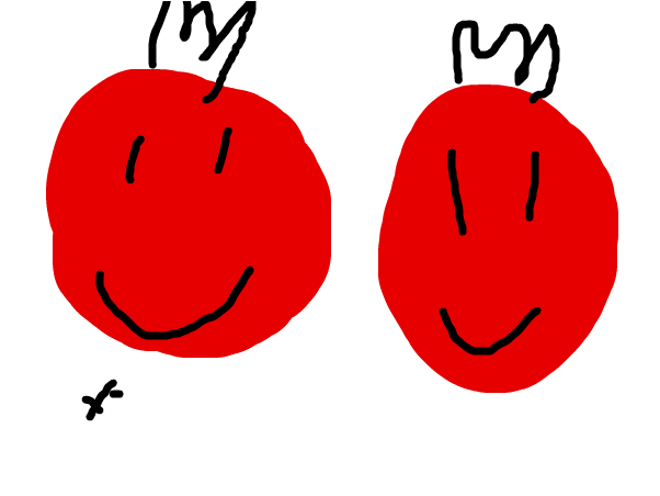 красные как помедоры