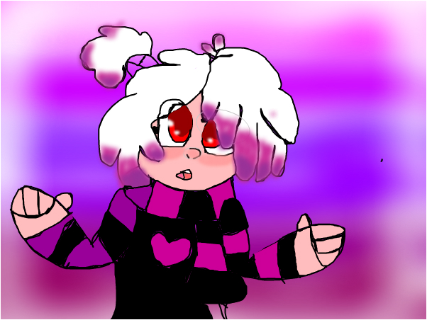 what my oc would look like if she was humen