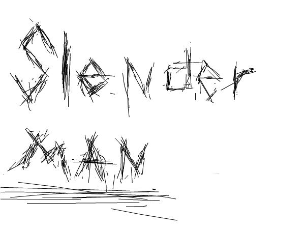 Slender Man Font