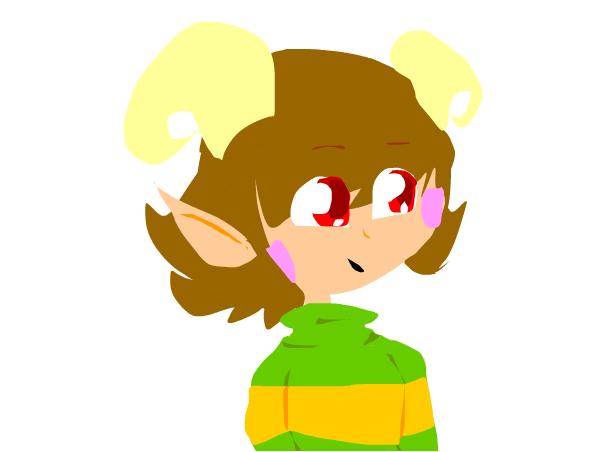 chara's new look