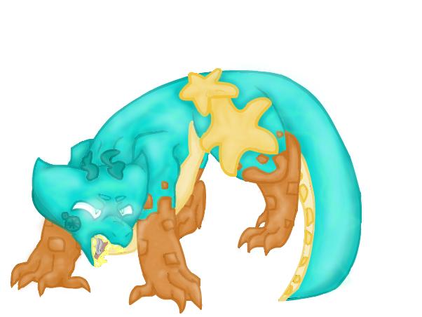 Tide pool dragon thing