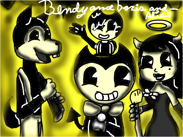 bendy and boris and alice