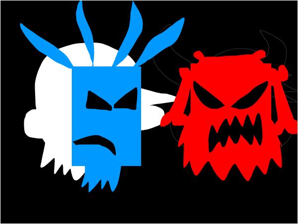 good vs evil teaser