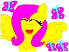 pony fluttershy is del hello animals