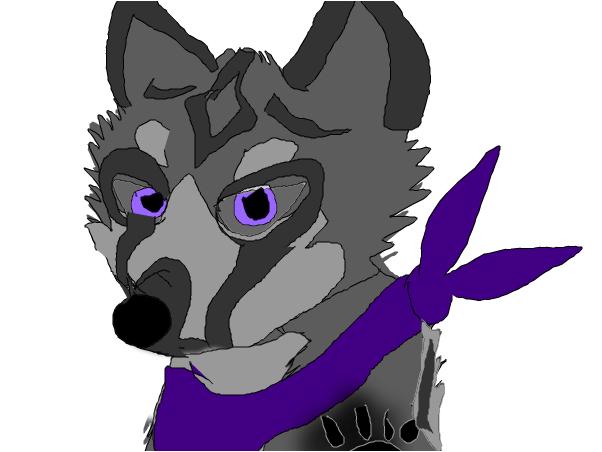 My wolf oc, WolfClaw