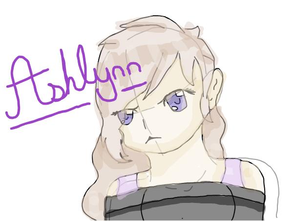 New OC~Ashlynn