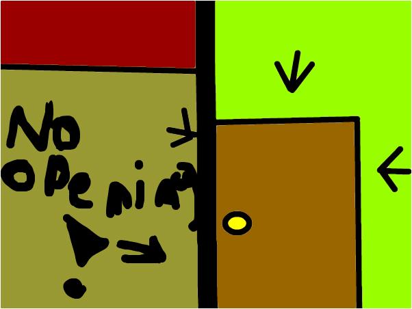 No Opening This Door!!! ( Me and RainPie working )
