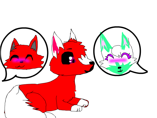 BloodDust x RainPie y bebé BloodPie