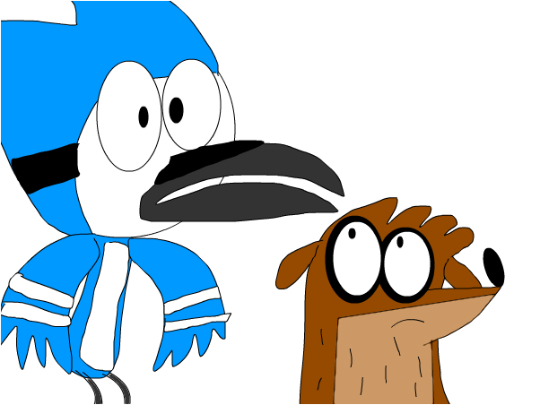 how come on paper rigby looks ugly