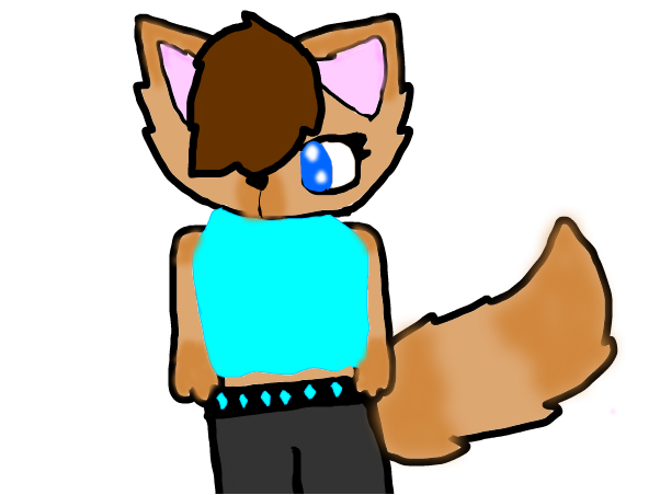 My anthro Oc: Cinnamon