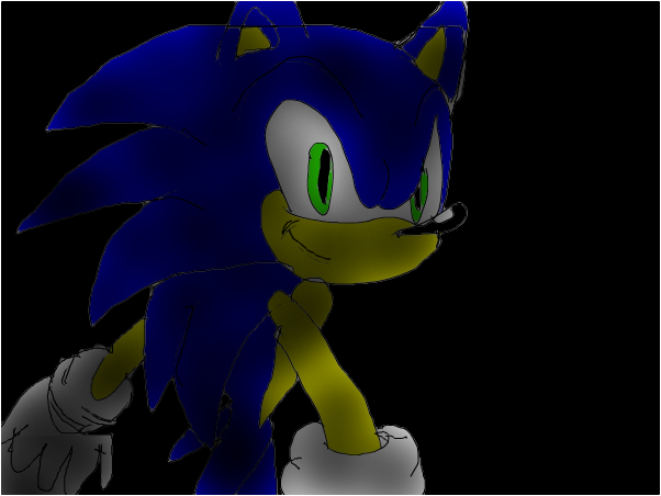 I draw Sonic too much (desc)