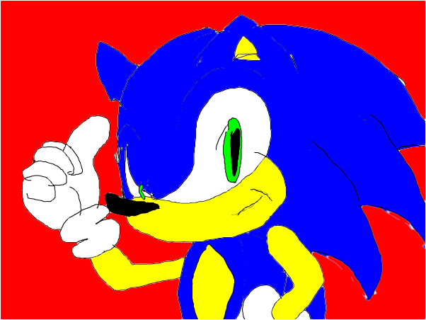 Sonic's the name, speed's my game