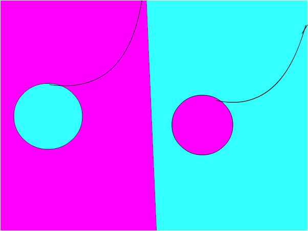 light blue and pink yoyo