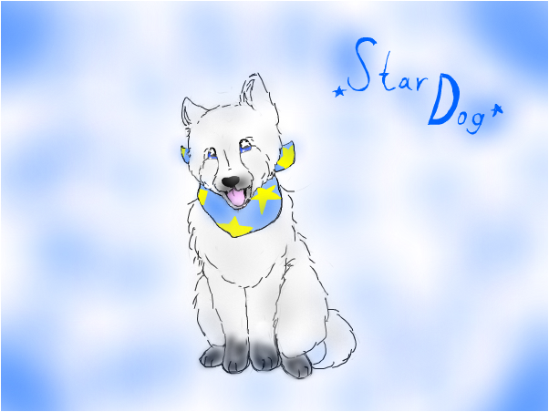 Star Dog(my new OC).