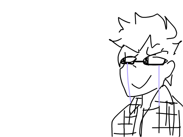 I made the new persona but m too lazy to draw him