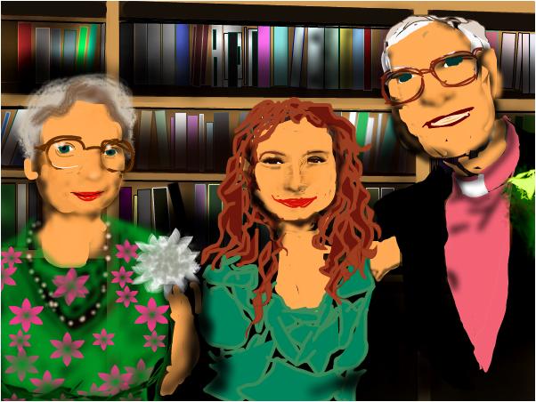 GoldDust  (Tori, Mrs.and Dr. Amos)