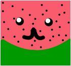 the cute kawwie watermelon