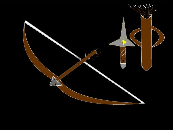 An arrow set