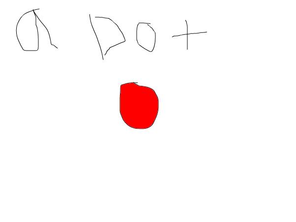 a dot