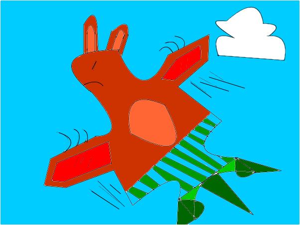 Bunny dragon :3