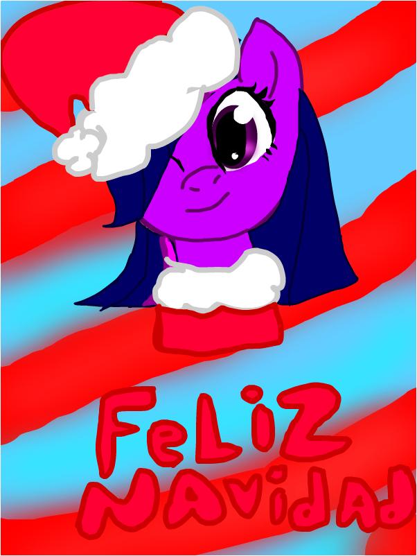my little pony andfeliz navidad
