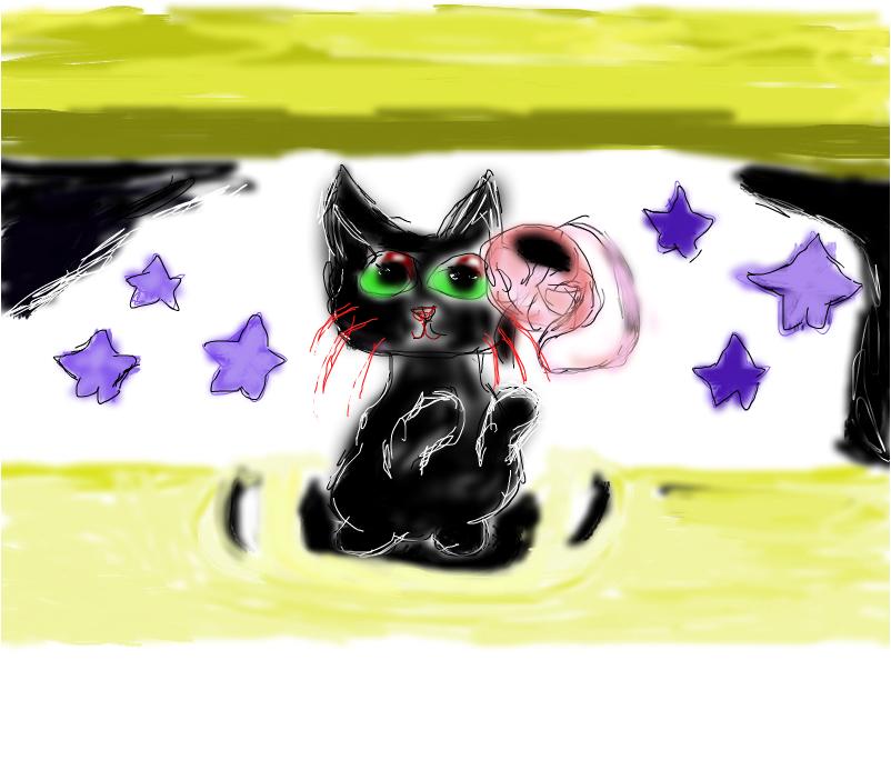Снова котик Sad Cat