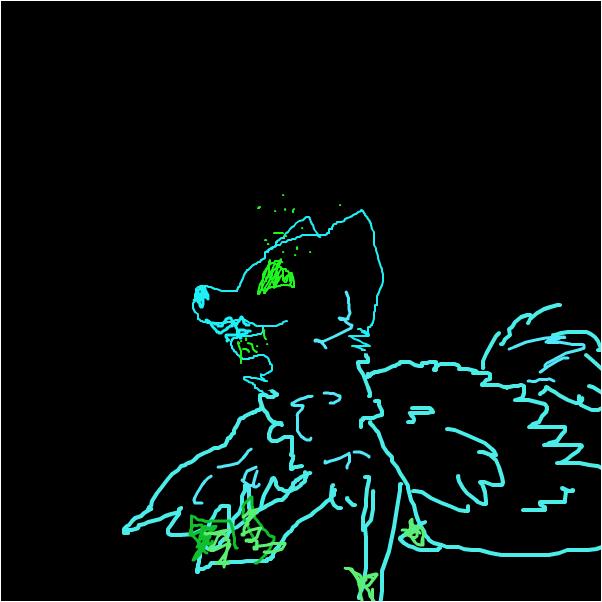 flying wolf