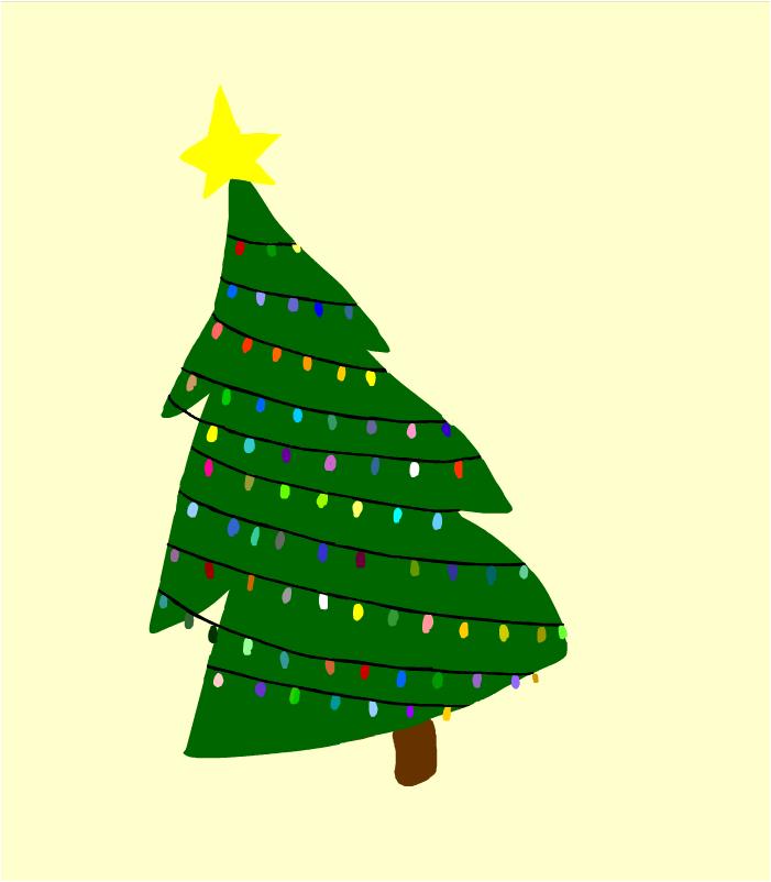 A Little Ol' Christmas Tree